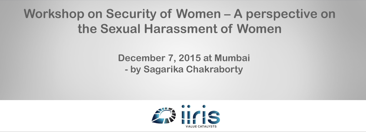 Sagarika Chakraborty addresses ASIS AGM, talks on Sexual Harassment of Women at Workplace